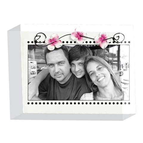 5x7 Acrylic Block By Deca   5 x 7  Acrylic Photo Block   Gzc6pph3t87t   Www Artscow Com Front