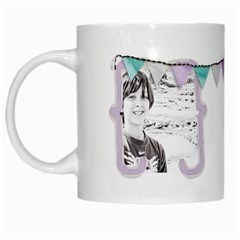 White Mug By Deca   White Mug   Fb81h1phox5q   Www Artscow Com Left