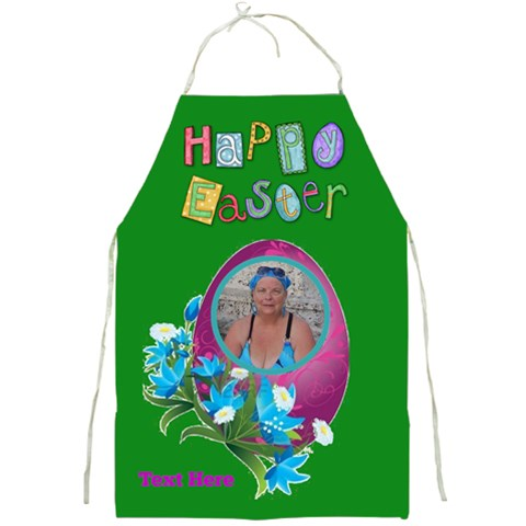 Easter Apron 2 By Joy Johns   Full Print Apron   Jxetdh6e7gm1   Www Artscow Com Front