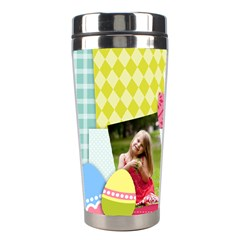 Easter By Easter   Stainless Steel Travel Tumbler   H3pd47vh253g   Www Artscow Com Left