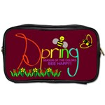 Spring 2 sided toiletries bag - Toiletries Bag (Two Sides)