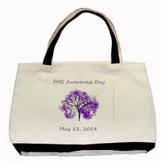 Fms Awareness 2014 Classic Tote Bag by FunWithFibro