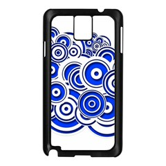 Trippy Blue Swirls Samsung Galaxy Note 3 N9005 Case (black) by StuffOrSomething