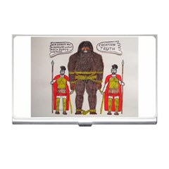Big Foot & Romans Business Card Holder by creationtruth