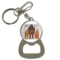 Big Foot & Romans Bottle Opener Key Chain by creationtruth