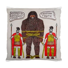 Big Foot & Romans Cushion Case (single Sided)  by creationtruth