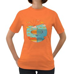 As Above, So Below Women s T Shirt (colored) by Contest1861806