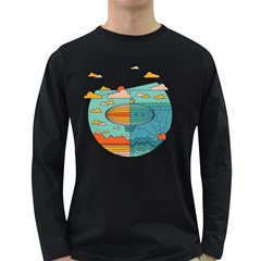 As Above, So Below Men s Long Sleeve T Shirt (dark Colored) by Contest1861806