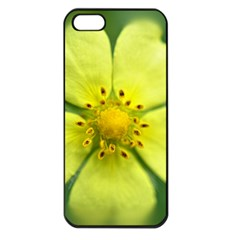 Yellowwildflowerdetail Apple Iphone 5 Seamless Case (black) by bloomingvinedesign