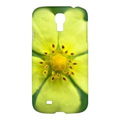 Yellowwildflowerdetail Samsung Galaxy S4 I9500/i9505 Hardshell Case