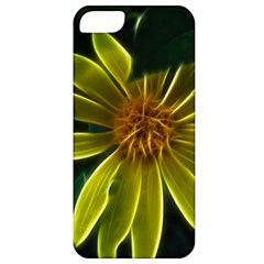 Yellow Wildflower Abstract Apple Iphone 5 Classic Hardshell Case by bloomingvinedesign