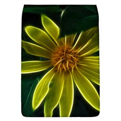 Yellow Wildflower Abstract Removable Flap Cover (Large) by bloomingvinedesign
