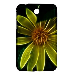 Yellow Wildflower Abstract Samsung Galaxy Tab 3 (7 ) P3200 Hardshell Case  by bloomingvinedesign
