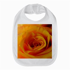 Yellow Rose Close Up Bib by bloomingvinedesign