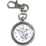 Cute Little Cartoon Boy Key Chain Watch