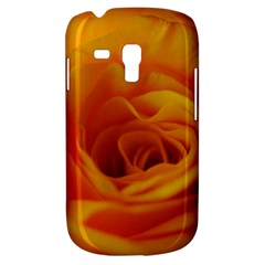 Yellow Rose Close Up Samsung Galaxy S3 Mini I8190 Hardshell Case by bloomingvinedesign