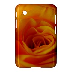 Yellow Rose Close Up Samsung Galaxy Tab 2 (7 ) P3100 Hardshell Case  by bloomingvinedesign