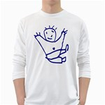 Cute Little Cartoon Boy Long Sleeve T-Shirt