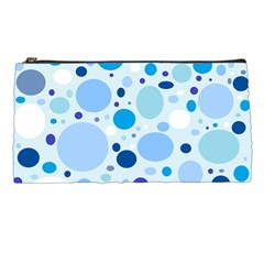 Bubbly Blues Pencil Case