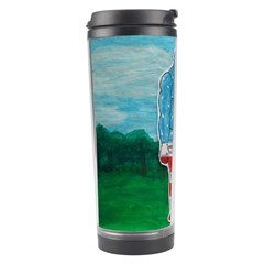 Painted Flag Big Foot Aust Travel Tumbler by creationtruth