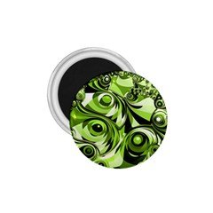 Retro Green Abstract 1 75  Button Magnet by StuffOrSomething