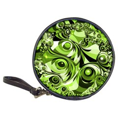 Retro Green Abstract Cd Wallet by StuffOrSomething