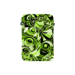 Retro Green Abstract Apple Ipad Mini Protective Sleeve by StuffOrSomething