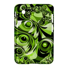 Retro Green Abstract Samsung Galaxy Tab 2 (7 ) P3100 Hardshell Case  by StuffOrSomething