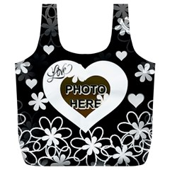 Love Full Print Recycle Bag, Xl By Joy Johns   Full Print Recycle Bag (xl)   Apcdjno4h4g0   Www Artscow Com Back