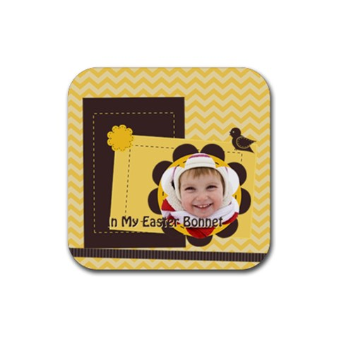 Easter By Easter   Rubber Coaster (square)   Rfogsj76lvae   Www Artscow Com Front