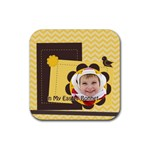 easter - Rubber Coaster (Square)