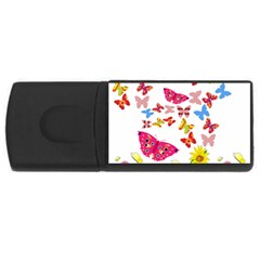 Butterfly Beauty 4gb Usb Flash Drive (rectangle) by StuffOrSomething