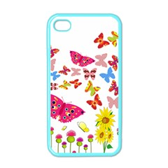 Butterfly Beauty Apple Iphone 4 Case (color) by StuffOrSomething