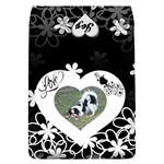 Love Flower large flap cover - Removable Flap Cover (L)