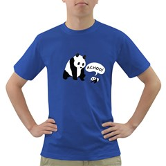 Panda Sneeze Men s T Shirt (colored)