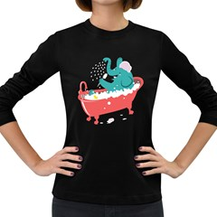 Rub A Dub Fun Women s Long Sleeve T Shirt (dark Colored) by Contest1888309