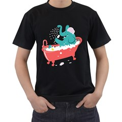 Rub A Dub Fun Men s T Shirt (black) by Contest1888309