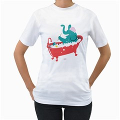 Rub A Dub Fun Women s T Shirt (white)  by Contest1888309