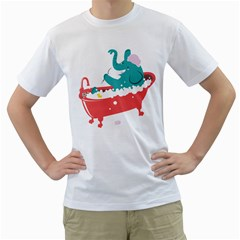 Rub A Dub Fun Men s T Shirt (white)  by Contest1888309