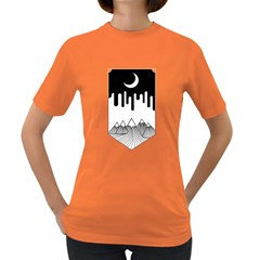 Night Melting Women s T Shirt (colored)