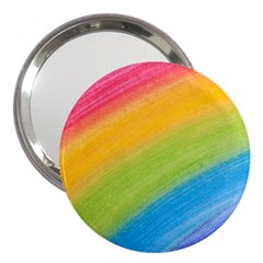 Acrylic Rainbow 3  Handbag Mirror by StuffOrSomething
