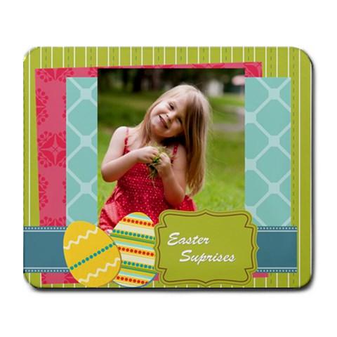 Easter By Easter   Collage Mousepad   3xuaeaodwc81   Www Artscow Com 9.25 x7.75 Mousepad - 1