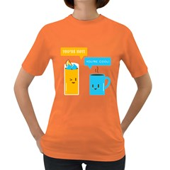 Hot And Cool Women s T Shirt (colored)