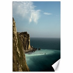 Dramatic Seaside Picture Canvas 12  X 18  by NoemiDesign