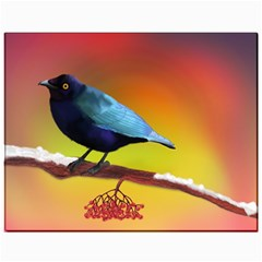 The Blue Bird Canvas 11  X 14  by NoemiDesign