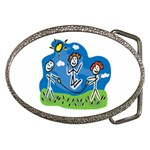 Jump Roping Kids Belt Buckle