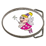Happy Fairy Girl Belt Buckle