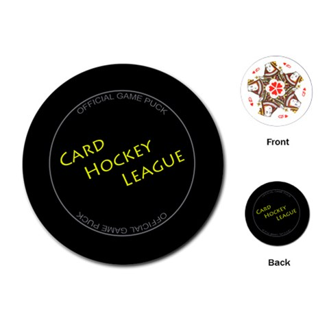Card Hockey League By Rainer Ahlfors   Playing Cards (round)   P7se3dwca8a7   Www Artscow Com Front