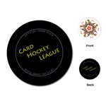 Card Hockey League - Playing Cards (Round)