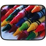 crayon - Fleece Blanket (Mini)